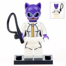 Cat Woman Comic Version Lego Toys Batman Superhero Minifigure - $3.25