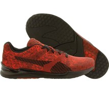 $120.00 Puma Men XS 500 Swift Woven Mesh red high risk black 360106-05 - $73.71