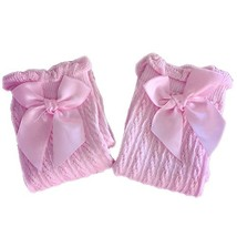 Baby Socks Lovely Bow Cotton Summer Infant Stocking 1-4 Years Old(Pink) image 2
