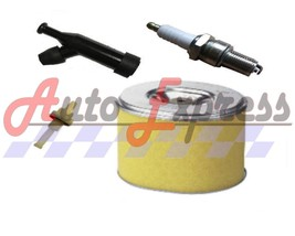 Honda GX160 Service Kit Spark Plug Air Filter Spark Plug Cap Fuel Petcock 5.5HP - $10.95