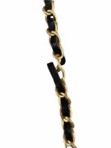 Valentino Black Leather Gold Stud Rockstud Small Glam Lock Crossbody Bag Purse image 5