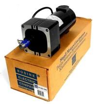 NIB BODINE ELECTRIC SP6152XMPP GEAR MOTOR RATIO 20.4:1 RPM 123 HP 1/8 VOLTS 130