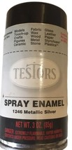 Testors Model Master Gloss Metallic Silver Enamel Spray Paint Can 3 Oz. 1246 - $5.45