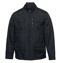 Buffalo David Bitton Men's Black Top Coat, Black, Size M - $37.61