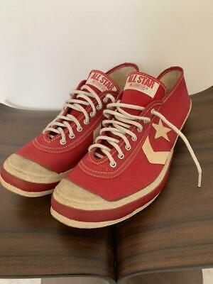 Mint Vintage Converse Track Star Chuck Taylor 60 Red Men 8.5US