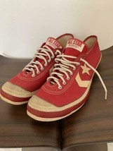 Mint Vintage Converse Track Star Chuck Taylor 60 Red Men 8.5US - $783.34