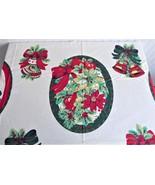 Panel DIY 6 Placemats Christmas Motif Holiday Appliques Wamsutta Hallmar... - $14.00