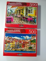 Portugal Old Town Duoro River Traditional Greek Tavern Jigsaw Puzzles 50... - $15.84