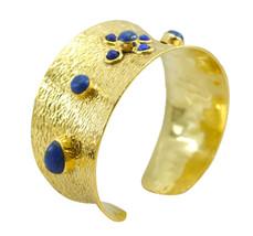 cute Multi Gemstone Gold Plated Multi Bangle genuine generally US gift - $20.68