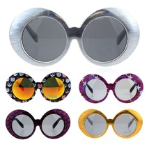 Childen Size Girls Mod Round Circle Lens Oval Thick Plastic Fashion Sung... - $9.95