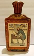 Vintage Jim Beam Saturday Evening Post 1976 Bicentennial Bourbon Bottle - $14.85