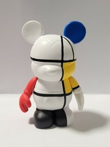 "Disney Vinylmation 3"" RARE MICKEY MOUSE THOMAS SCOTT ARTIST COLORFUL Wit... - $17.45"