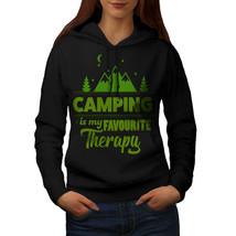 Camping Therapy Sweatshirt Hoody Outdoor Women Hoodie - $21.99+