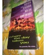 VTG 1992 Where The Day Takes You VHS Tape Sean Astin Lara Flynn Boyle - $11.11