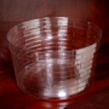 Longaberger Extra Small Crock Basket Plastic Protector Only New Genuine ... - $10.84
