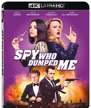The Spy Who Dumped Me (2018) [4K UHD + Blu-ray]