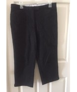 VTG 90's Tommy Hilfiger Women's Stretch Cropped Capris Chino Pants Size ... - $17.56