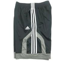 Adidas Hommes Short Gym TAILLE S Noir Entraînement Bas Athlétique Loisirs Gris - $24.70