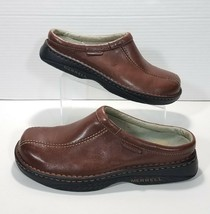 Merrell World Outlook Bicycle Toe Mules Slip On Shoes Mens 12 Dark Brown... - $42.06