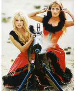 Brigitte Bardot Photo Print And Jeanne Moreau Color 8X10 Viva Maria! - $9.75