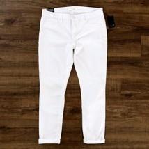 Joe's Jeans Women's Sz 31 White Rolled Crop Jeans NWT - $55.25
