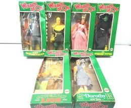 Vintage Mego Set 6 Wizard Oz Doll Dorothy Witch Scarecrow Tin Man Lion O... - $297.00