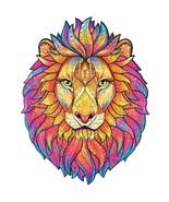 "Unidragon Wooden Jigsaw Puzzles ""Mysterious Lion"" Wooden Puzzles Animals - M[... - $59.99"
