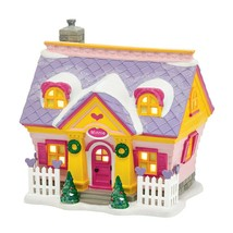 Disney Village Minnie's House Light-Up Christmas Display Building D56 40... - $74.20