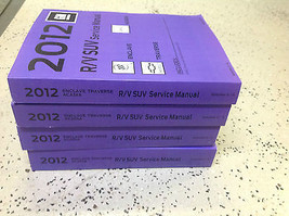 2012 Buick Enclave Service Shop Repair Manual Set Factory Books 2012 New - $297.33