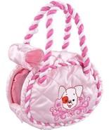 Zhu Zhu Puppies Puppy Carrier Pink Braid - New - $10.40