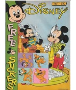 Disney Magazine #123 UK London Editions 1988 Color Comic Stories FINE- - $5.24