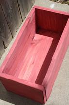 Unique Primtiques Outdoor Garden Porch Flower PLANTER BOX Primitive Wood... - $20.00