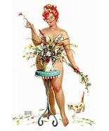 Vintage Hilda Plus Size Girl 1950's  Reproduction Print #110 - $24.95