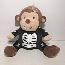 Carter's Just One You Halloween Skeleton Monkey Costume Lovey Plush Toy - $18.66
