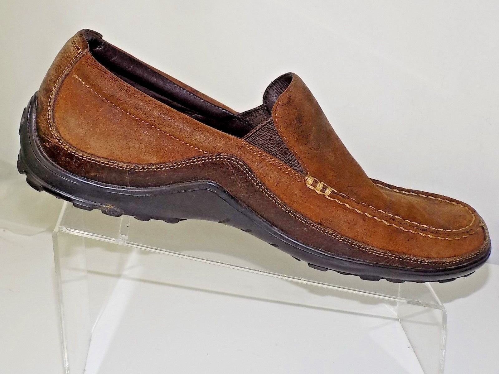 d370cad8e Cole Haan Leather Distressed Brown Driving and 50 similar items. S l1600
