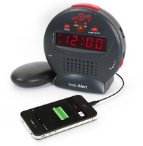 Kids Alarm Clock, Sonic Bomb Jr Loud Home Bedside Small Digital Alarm Clock - €38,68 EUR
