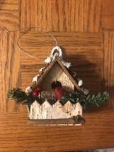 Christmas Birdhouse Ornament - $11.76
