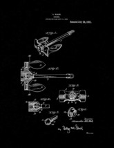 Anchor Patent Print - Black Matte - $7.95+