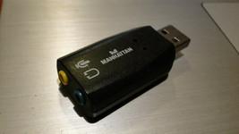 MANHATTAN Hi-Speed USB 3-D Sound Adapter - $6.44