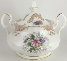Royal Albert Serenity Sugar bowl & lid - $60.00