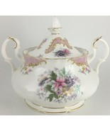 Royal Albert Serenity Sugar bowl & lid - $60.00