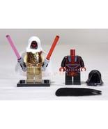 JEDI Knight REVAN Change to DARTH Revan Sith Lord Star Wars Minifigure S... - $26.00