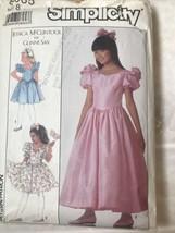 Simplicity Pattern 8985 Size 8 Girls Dress in Two Lengths uncut - $11.29
