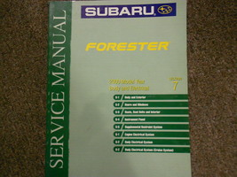 2000 Subaru Forester Body Electrical Section 7 Service Repair Shop Manual OEM - $49.45