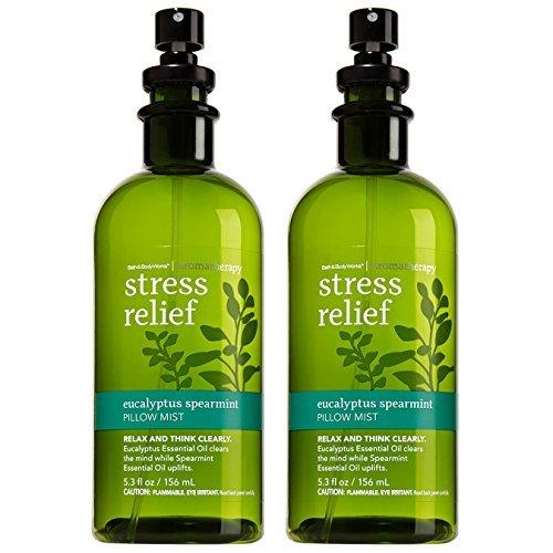 Bath & Body Works Aromatherapy Stress Relief Eucalyptus Spearmint Pillow Mist, 5 image 5