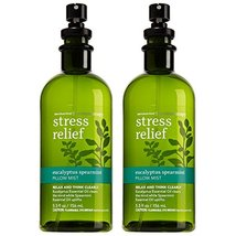 Bath & Body Works Aromatherapy Stress Relief Eucalyptus Spearmint Pillow Mist, 5 image 5
