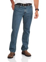 Faded Glory Men's Regular Fit Jeans 42X30 Med Wash Classic Fit Straight ... - $27.71