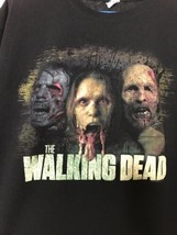 The Walking Dead Distressed T-Shirt Size XL Anvil Preshrunk Cotton - $24.75