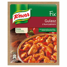 KNORR Goulash with CHICKEN spice packet - Made in Poland FREE SHIPPING - $5.93