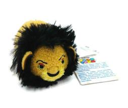 """Scar Disney Lion King Mini Tsum Tsum 3.5"""" Plush Yellow Black Mane Stuffe... - $18.70"""
